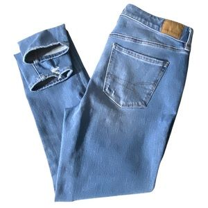 American Eagle Outfitters Jeans Hi Rise Jegging 10